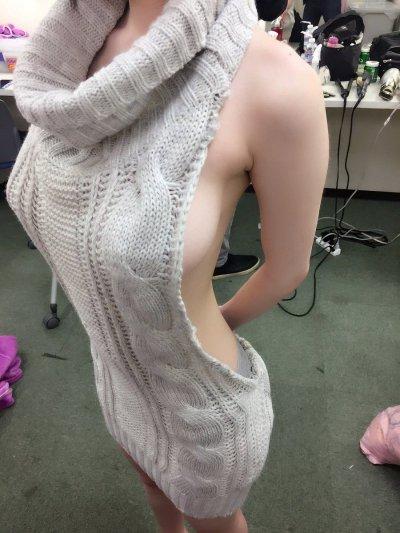童貞を殺すセーターで自撮りするのが大流行!?童貞じゃなくても殺されそうなんだけどwww 表紙