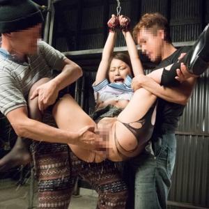 田舎のお嬢様学校に通うJKを拉致って縛って犯しまくるレイプ集団動画のサムネイル画像