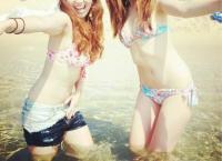 インスタ水着エロ画像59枚!海水浴を満喫する女の子のビキニ自撮りがエロい!のサムネイル画像