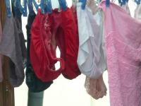 洗濯物盗撮エロ画像51枚!近所のお姉さんのエッチなブラやパンティを隠し撮りのサムネイル画像