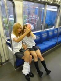 JK電車エロ86連発!登下校中の制服女子校生を隠し撮りした画像まとめのサムネイル画像