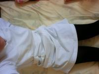 ナースコスで電マオナニーを晒す自撮りエロ写メのサムネイル画像
