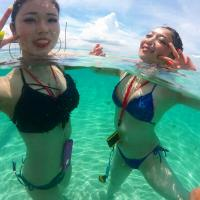 水中エロ画像123枚!プールではしゃぐ水着ギャルのビキニ尻盗撮やハプニング・浮力おっぱいまとめのサムネイル画像