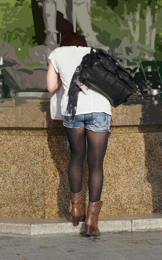 街で見かける度にチンコ釘付けになるセクシーな黒タイツエロ画像 | 素人エロ画像-女神ちゃんねる 表紙